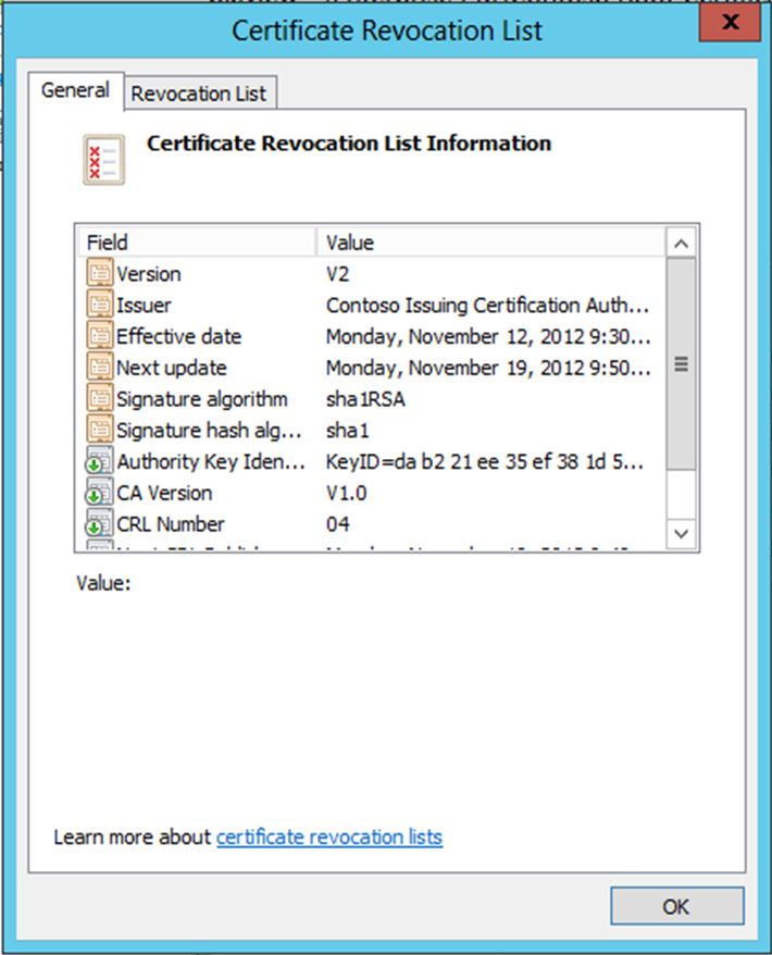 PKI Design Considerations: Certificate Revocation and CRL