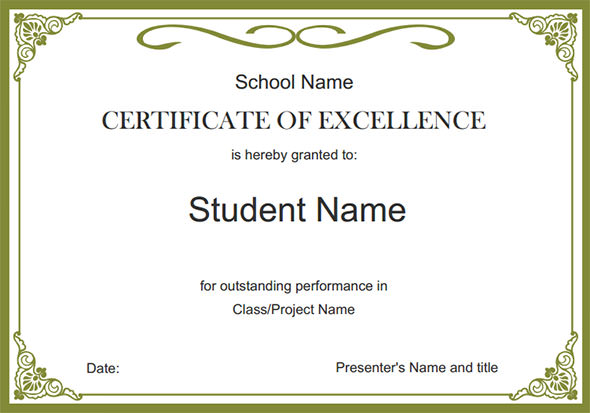 free templates for certificates free certificate design templates