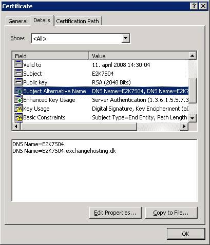 Securing an Exchange 2007 Client Access Server using a 3rd party