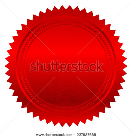 Certificate Seal Stock Images, Royalty Free Images & Vectors
