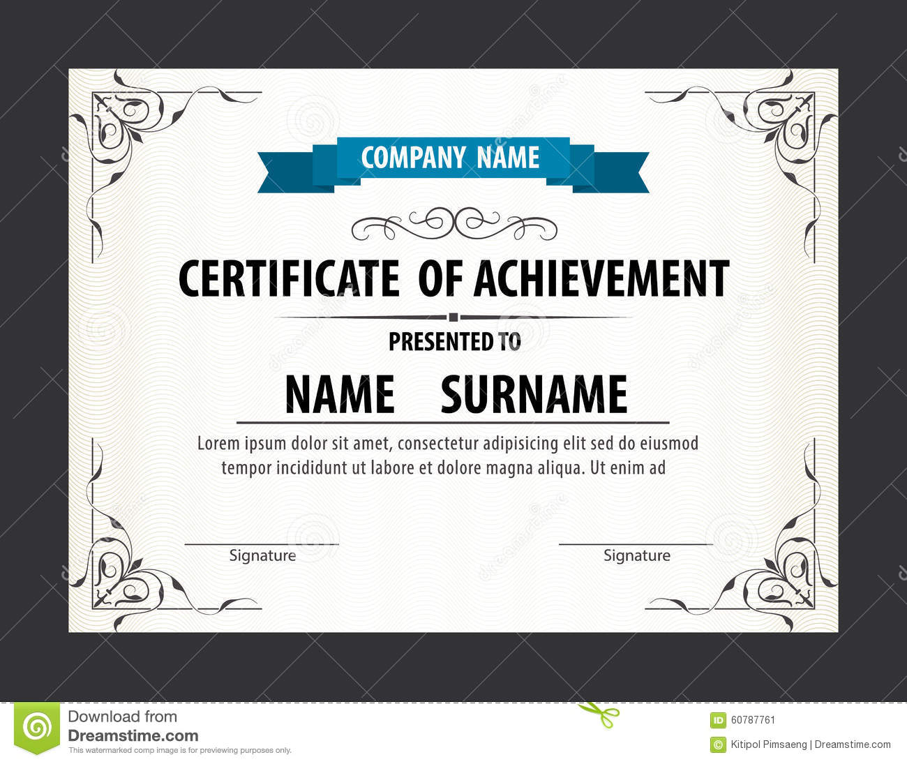 Certificate Template Size | Best & High Quality Templates