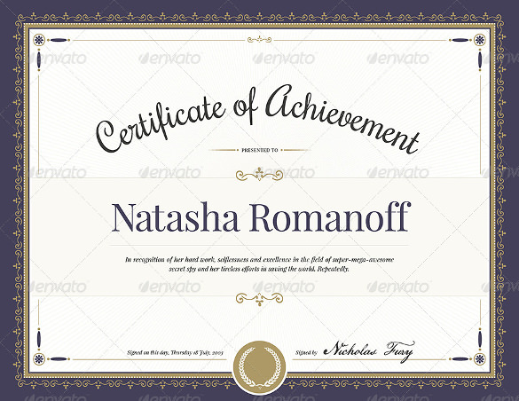 certificates templates word word achievement award certificate