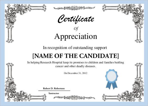 certificate template free certificate template 35 adobe