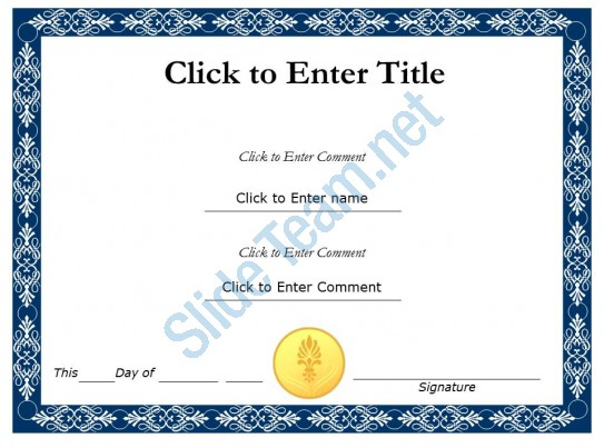 College Recognition diploma Certificate Template of Fullfilment