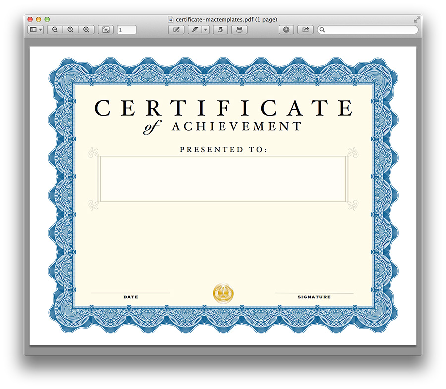 pages certificate template 38 attractive versatile templates for