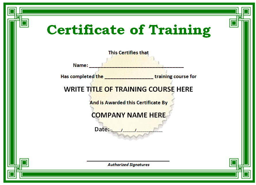 Award Certificate Template certificate templates best free images