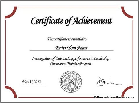 certificate template online certificates templates free