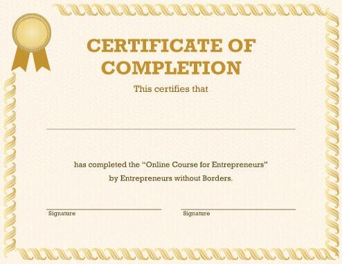 certificate template online 124 free printable diy certificate