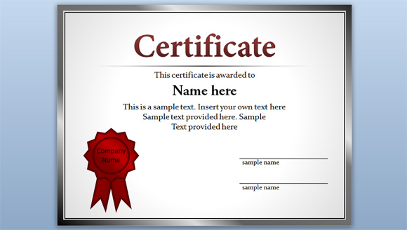 certificate template online free certificate template for