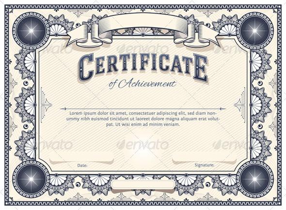 4 Designer | Certificate template design 03 Vector