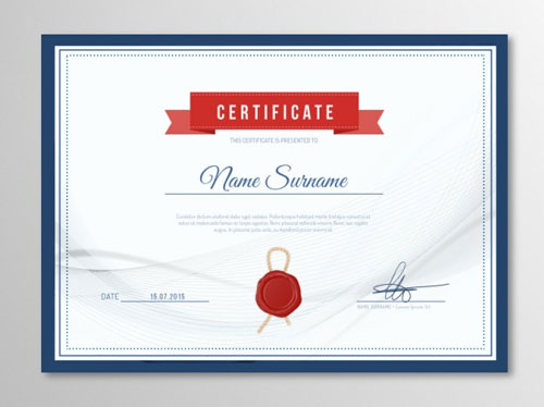 10 sets of free certificate design templates designfreebies yadclub Image collections