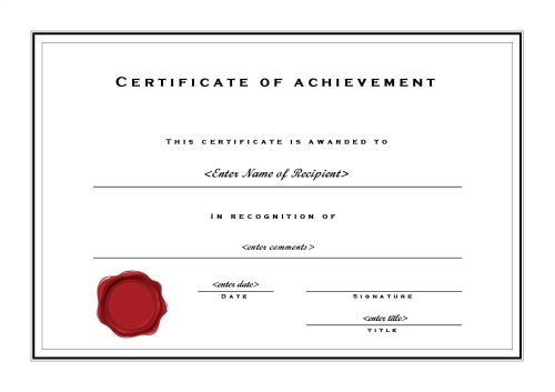 Best Publisher Certificate Template 123Certificate Templates