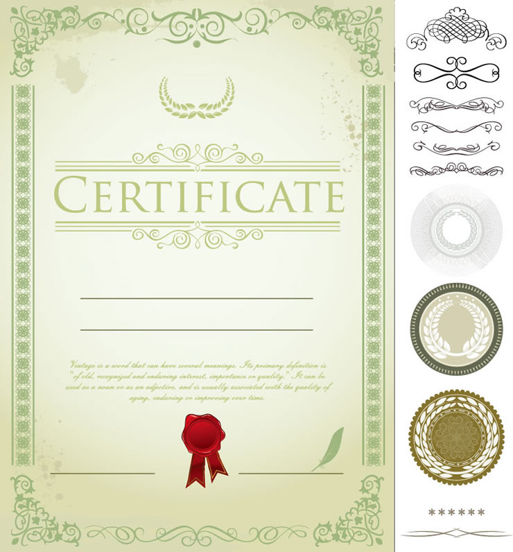Certificate 2 | Free Vector Graphic Download