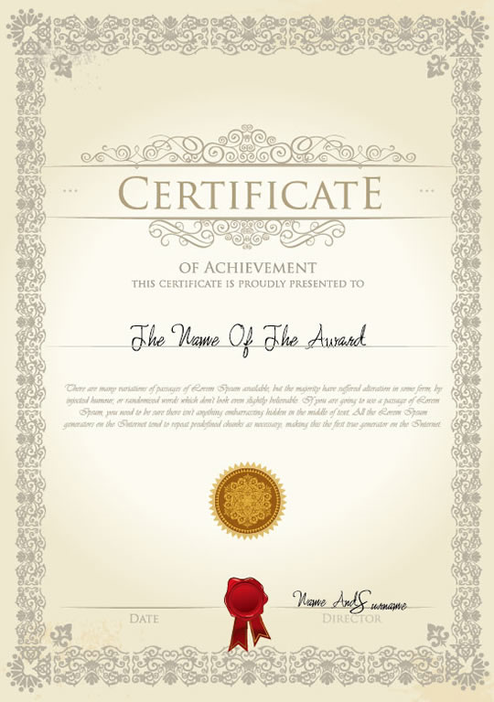 Certificate 3 | Free Vector Graphic Download
