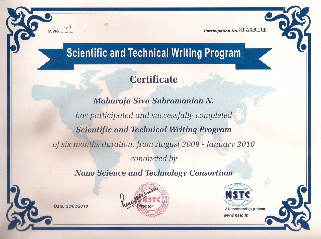 Writing Award Certificate | Teacherplanet.com