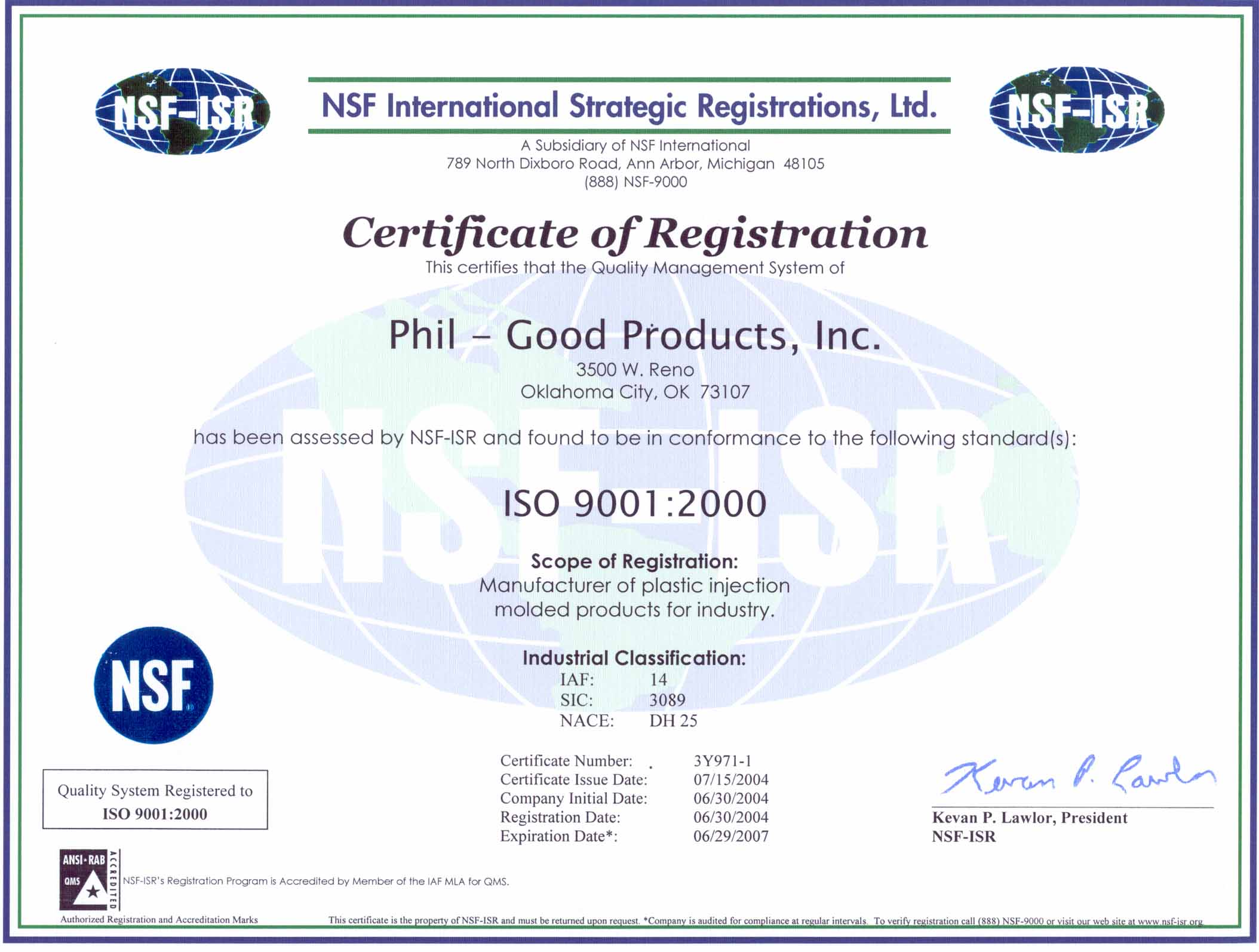 Custom Injection Molding, Phil Good Products, Inc Oklahoma City