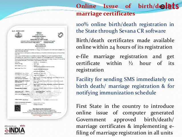 How Get Birth Certificate In Kerala Best Design Sertificate 2017
