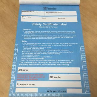 Roadworthy Certificate Qld | certificates templates free