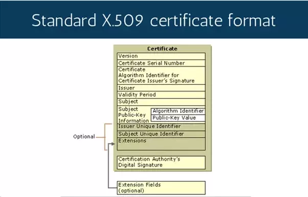 X.509 Public Key Certificates (Windows)