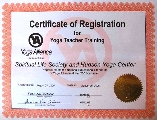 Certificate of Yoga | PHYSICAL EDUCATION TEMPLATE | Pinterest